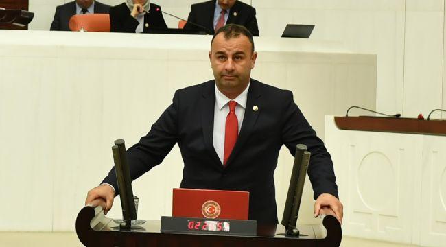 ARSLAN, ALİAĞA'DA YAŞANAN İŞ KAZALARINI MECLİSE TAŞIDI..