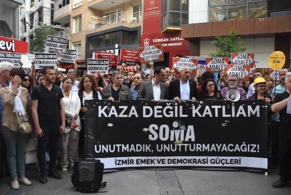 301 ŞEHİT MADENCİ, İZMİR'DE ANILDI..