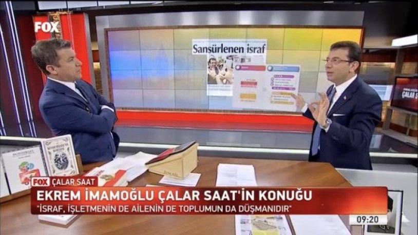 İMAMOĞLU ÇALAR SAAT'A REKOR KIRDIRDI !