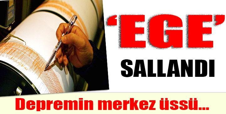İZMİR-KARABURUN'DA DEPREM !