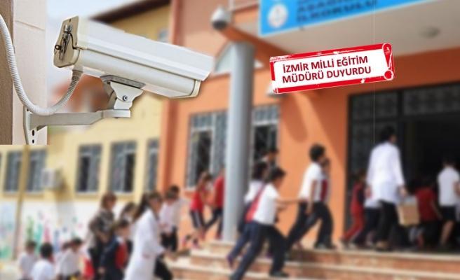 İZMİR'DE, DEZAVANTAJLI OKULLARA KAMERA SİSTEMİ..