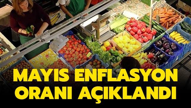 MAYIS ENFLASYONU, %0.95..
