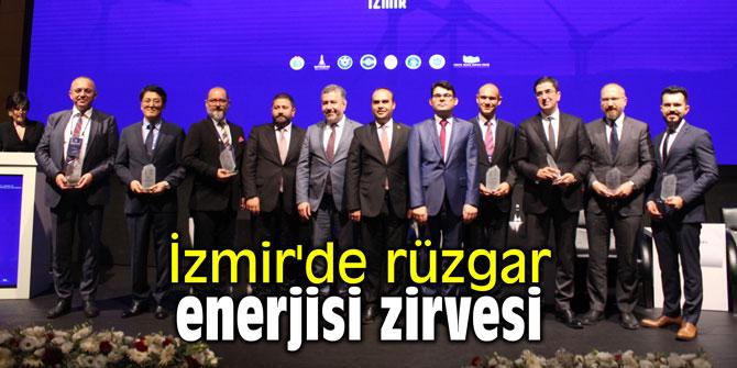 RÜZGAR'DAN ENERJİ ÜRETENLER, İZMİR'DE BULUŞTU..