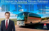 CHP İZMİR'DEN İSTANBUL'A, 50 OTOBÜS SEÇMEN..