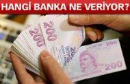 İŞTE,BANKA-BANKA, EMEKLİ PROMOSYON MİKTARLARI..