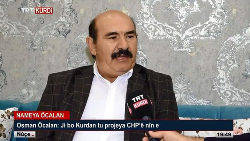 AKP VE MHP, ARANAN BİR TERÖRİSTİN TRT'YE ÇIKMASINDAN RAHATSIZ OLMAMIŞ!