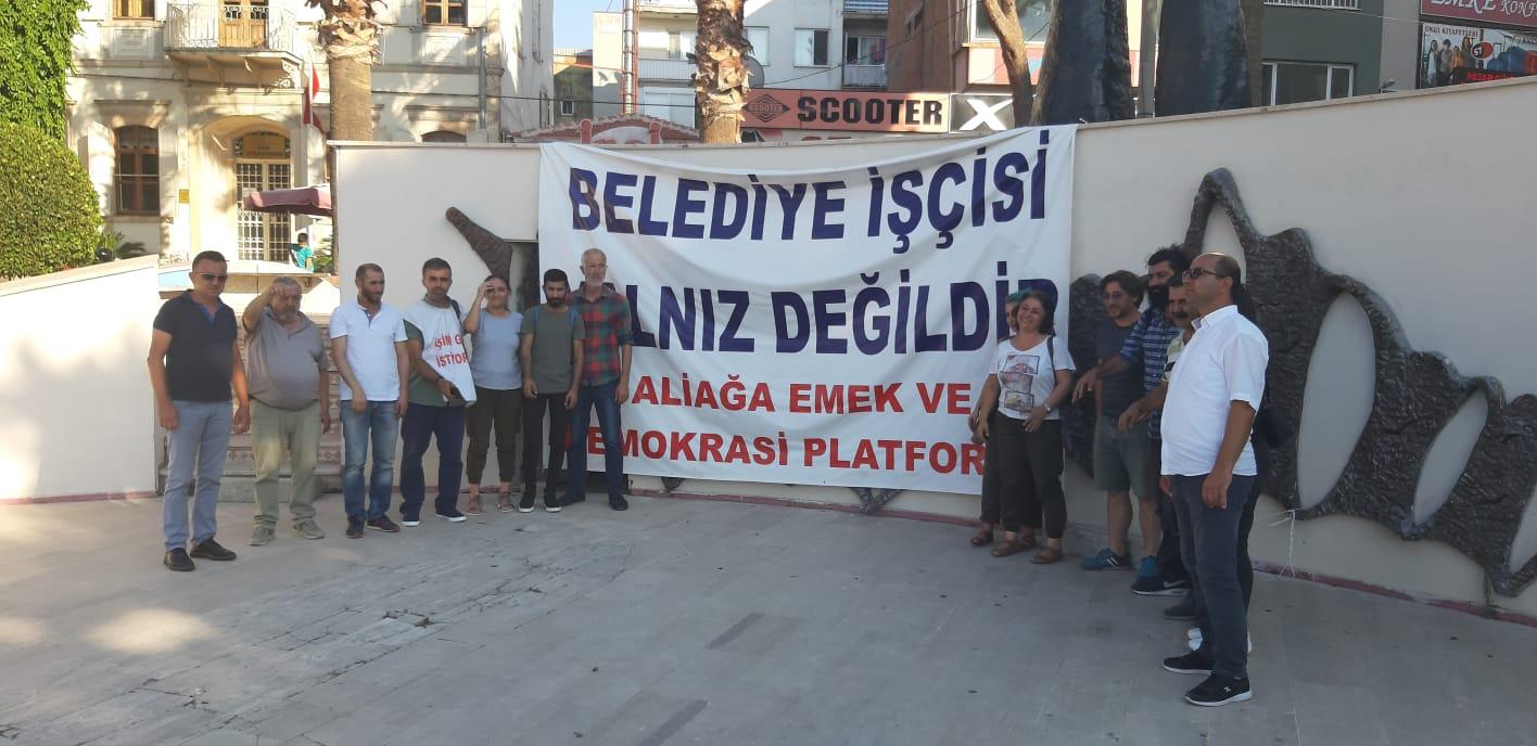 DİRENİŞÇİ İŞÇİLERE İSTANBUL'DAN DESTEK..