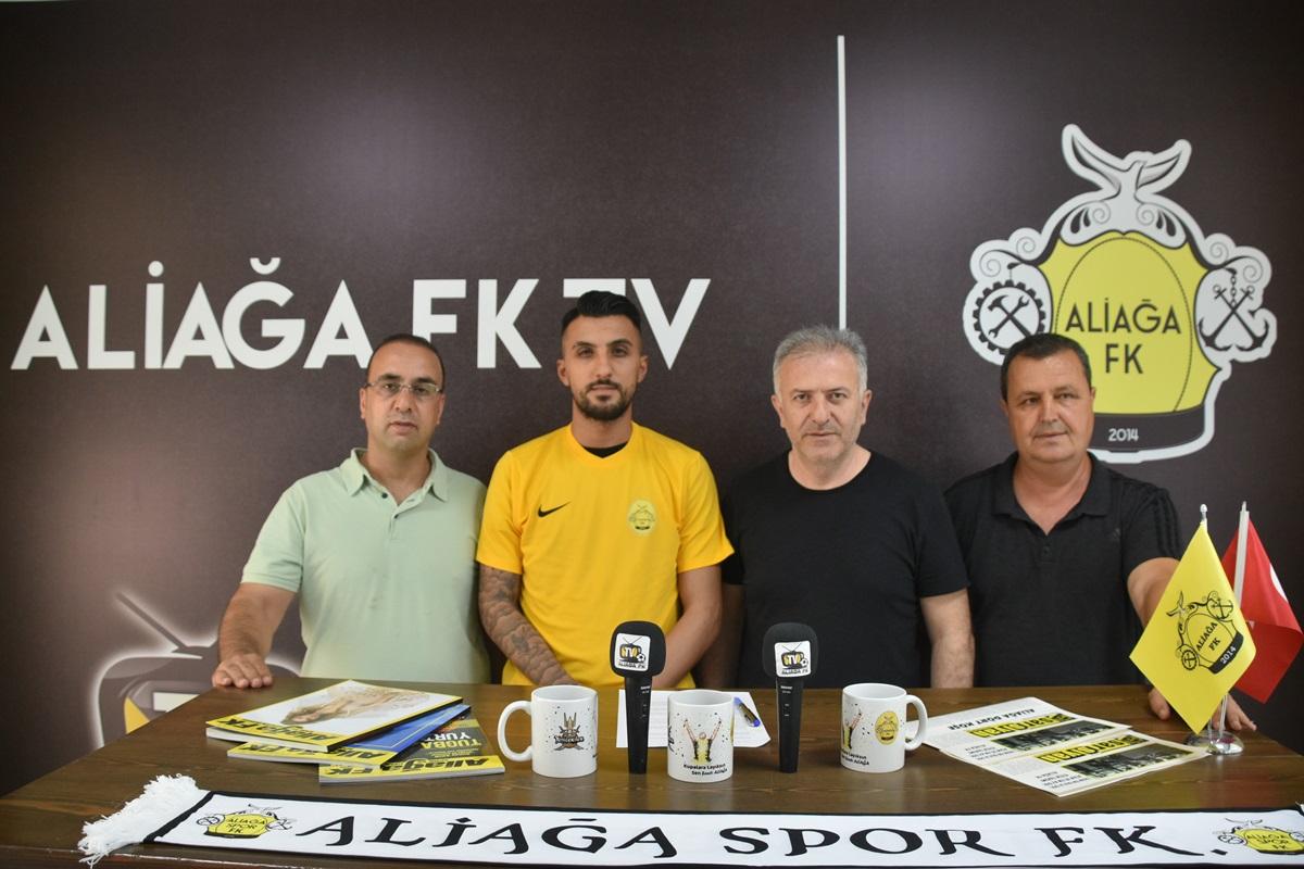 ALİAĞA FK'DAN İLK DIŞ TRANSFER..