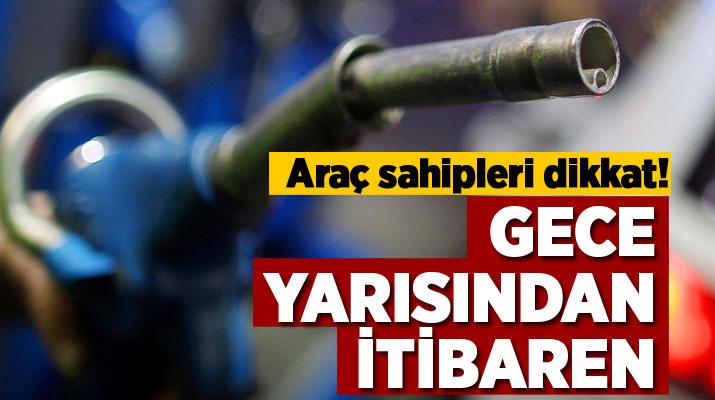 BENZİN VE MOTORİNE İNDİRİM GELDİ..