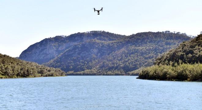 İZMİR'DE BARAJLAR, DRONE'LARLA KORUNUYOR..