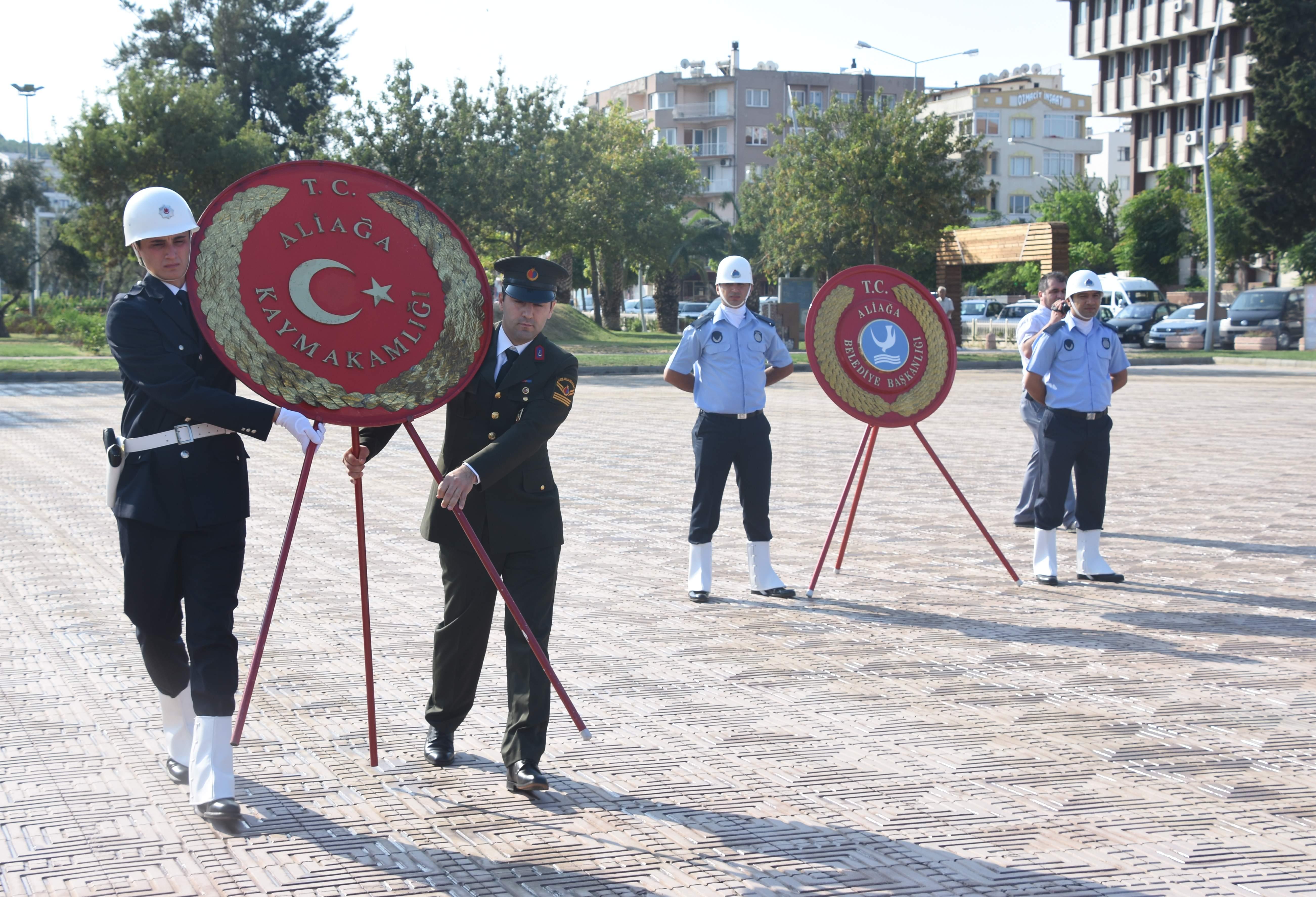 ALİAĞA'DA ZAFER BAYRAMI KUTLAMA PROGRAMI BELLİ OLDU..