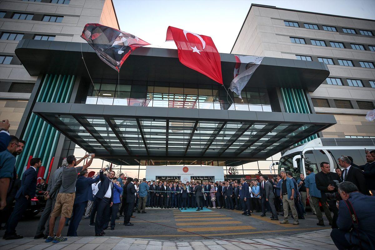 ERDOĞAN'DAN, ŞEHİR HASTANESİ ZİYARETİ..