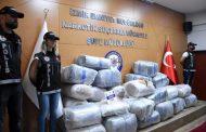 İZMİR'DE DEV OPERASYON!, 600 KİLOGRAM SKUNK ELE GEÇİRİLDİ..