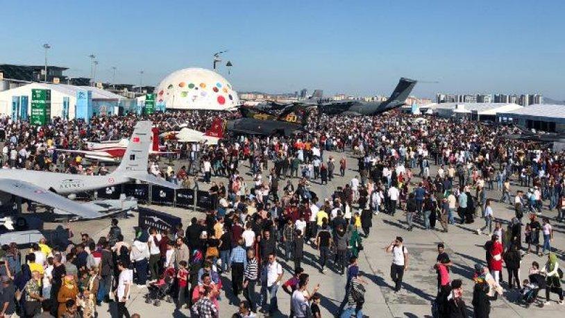 TEKNOFEST'E, 1.720.000 KİŞİ KATILDI..