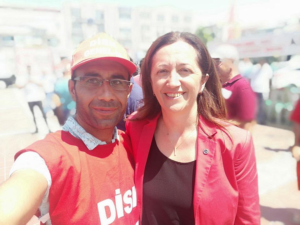 DİSK GENEL-İŞ 5 NO'LU ŞUBEDEN, BASIN AÇIKLAMASI...