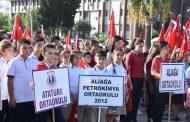 ALİAĞA'DA İLKÖĞRETİM HAFTASI, 16 EYLÜL'DE KUTLANACAK..