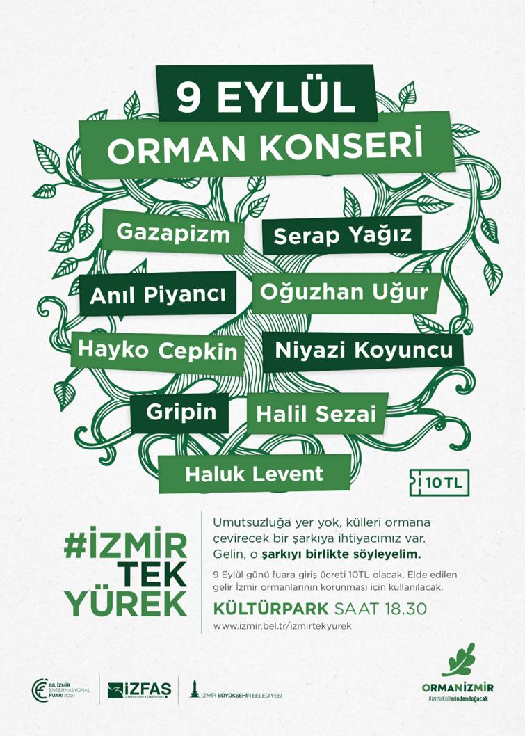 HAYDİ İZMİR'LİLER, TEK YÜREK