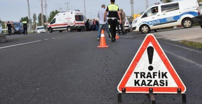 TİCARİ ARACIN ÇARPTIĞI TRAFİK POLİSİ ŞEHİT OLDU..