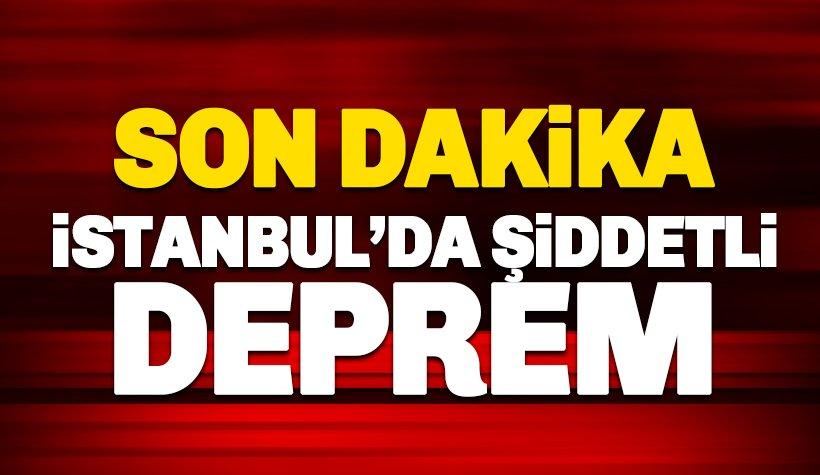 MARMARA DENİZİNDE 6.0 BÜYÜKLÜĞÜNDE DEPREM!