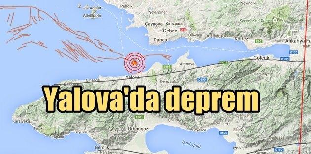 MARMARA DENİZİ-YALOVA'DA DEPREM!