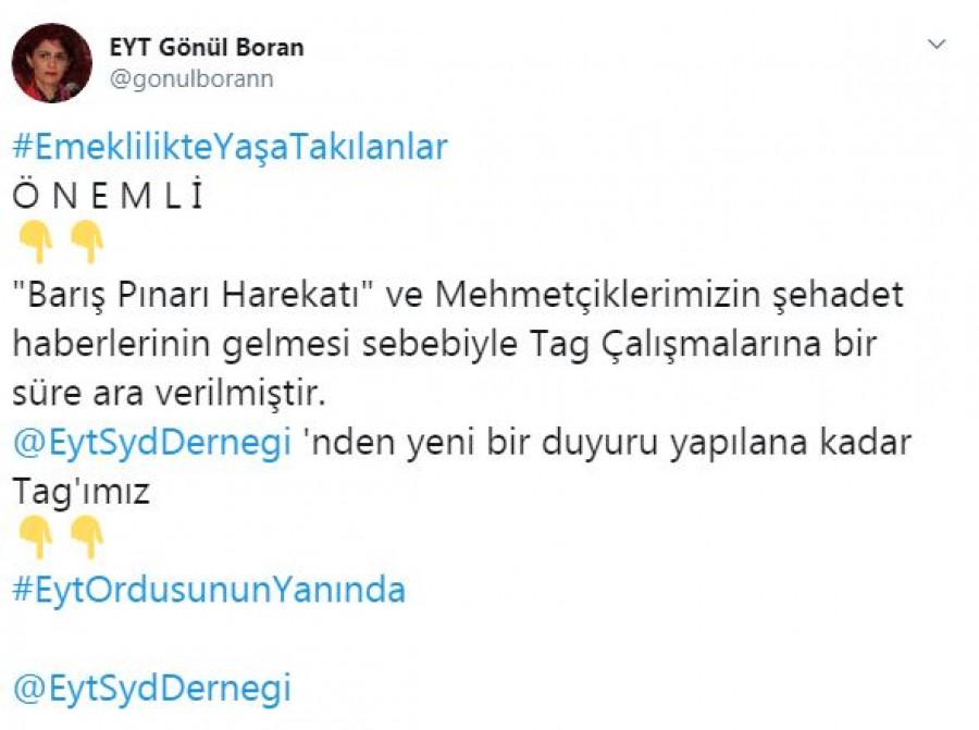 EYT ORDUSUNUN YANINDA, KAYSERİ DERNEĞİ AÇILIŞI İPTAL..