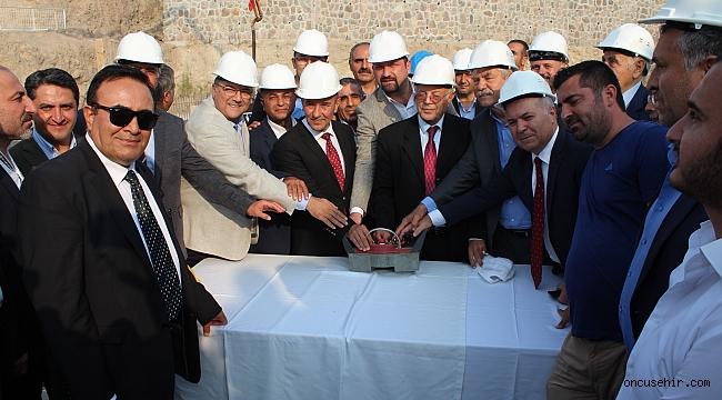 ÇİĞLİ-HARMANDALI'DA CEMEVİ TEMELİ ATILDI..