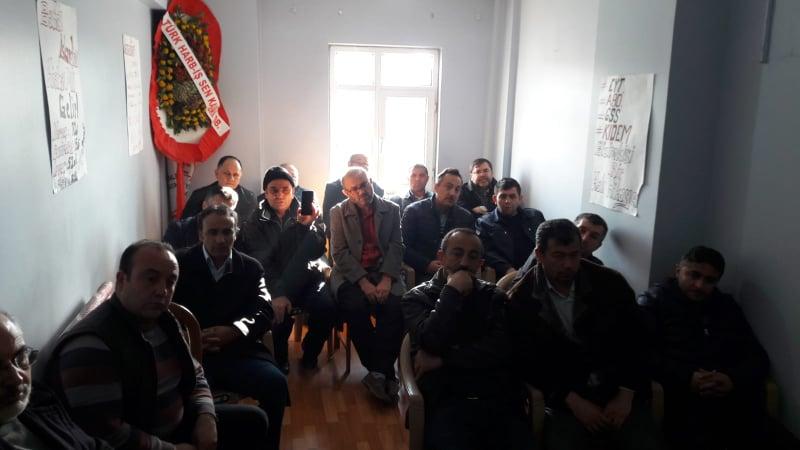EYT KAYSERİ DERNEĞİ FEDERASYON İÇİN GENEL KURUL KARARI ALDI..