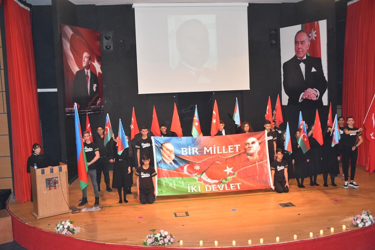 HEYDAR ALİYEV ALİAĞA'DA ÖZLEM'LE ANILDI..