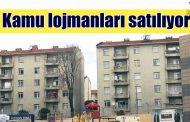 ALİAĞA'DA, KAMU LOJMANI SATIŞ İHALESİ YAPILACAK..