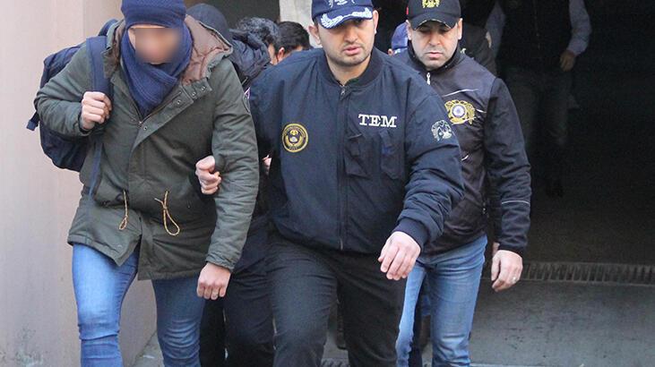 FETÖ'DEN GÖZALTINA ALINAN 145 ZANLIDAN 105'İ ADLİYE'YE SEVK EDİLDİ..