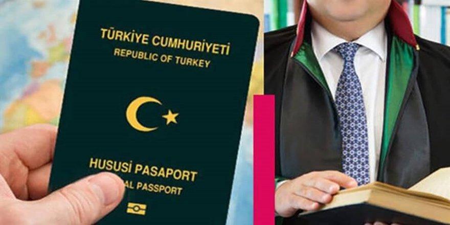 AVUKATLARA, HUSUSİ DAMGALI PASAPORT DÜZENLEMESİ..