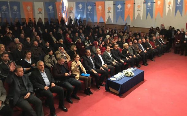 AK PARTİ ALİAĞA İLÇE DANIŞMA MECLİSİ TOPLANDI..