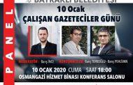 BAYRAKLI BELEDİYESİ DÜZENLİYOR, GAZETECİLER;