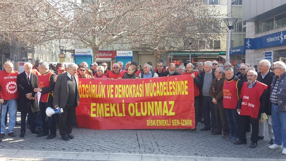 EMEKLİ-SEN İZMİR ŞUBELERİNDEN, MAAŞ PROMOSYONU TALEBİ..
