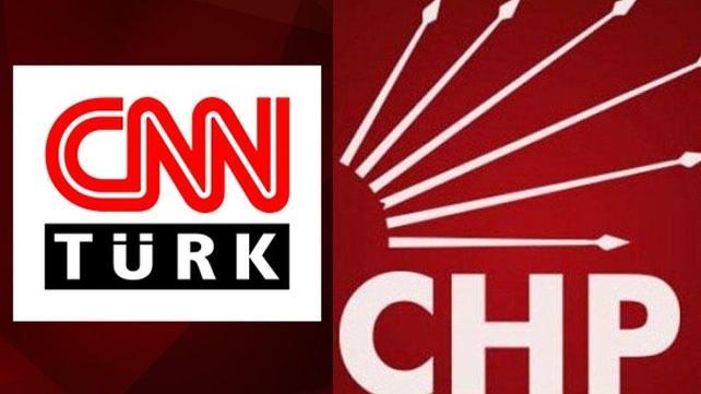 CHP'DEN CNN GENEL MERKEZİNE;