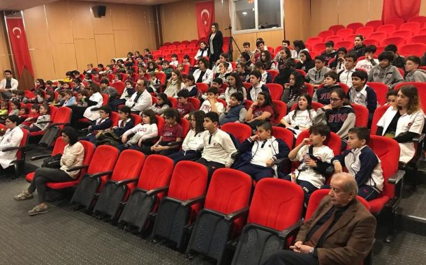 "ES GROUP'TAN ALİAĞA'LI ÖĞRENCİLERE ""GÜVENLİ YAŞAM"" EĞİTİMİ.."