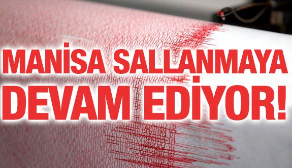MANİSA'DA DEPREM!, ALİAĞA VE İZMİR'DE DE HİSSEDİLDİ..