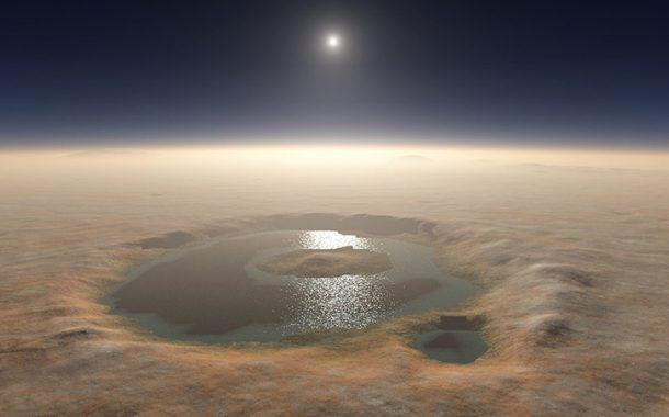 MARS'IN YÜZEYİNE HER YIL BİR KAÇ GÜN TUZLU SU ÇIKIYOR!