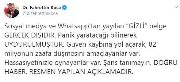 BAKAN KOCA;