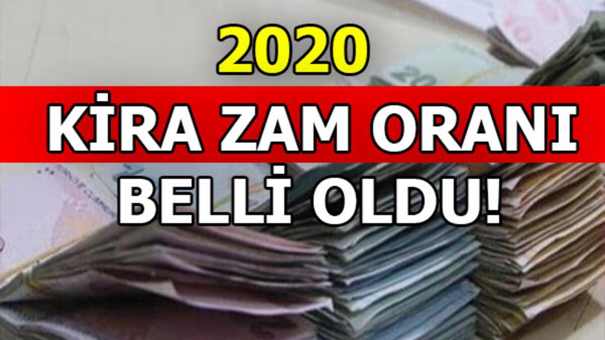 2020 KİRA ARTIŞ ORANI BELLİ OLDU..