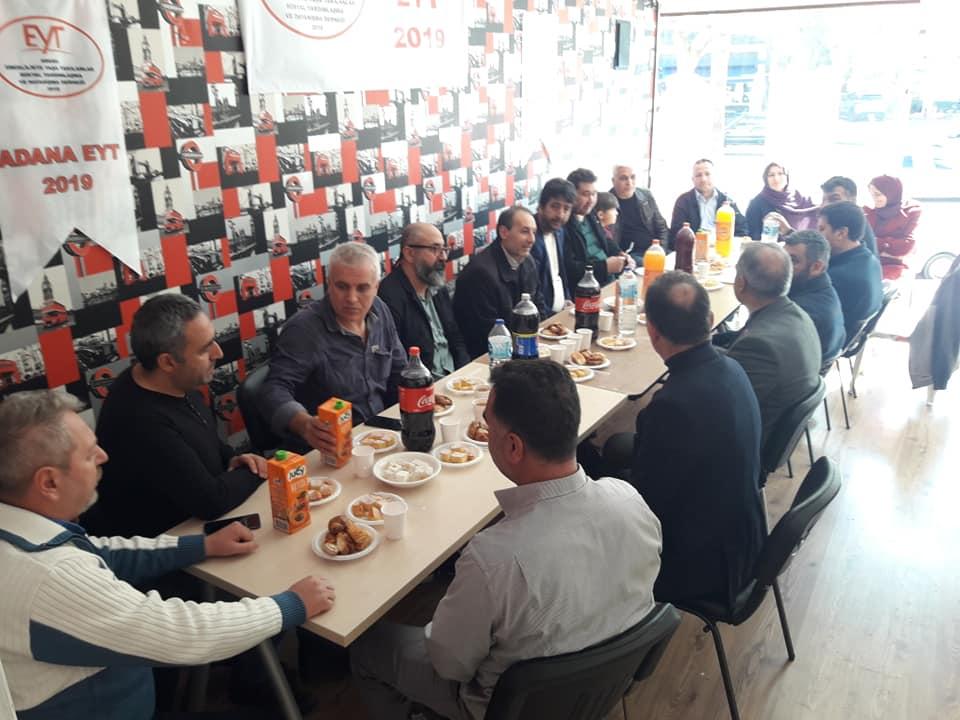 ADANA'LI EYT'LİLER ŞEHİTLERİ MEVLİTLE ANDI..