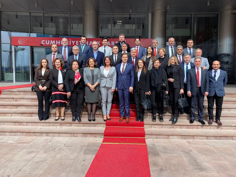 CHP İZMİR İL YÖNETİMİNDEN ANKARA ZİYARETİ..
