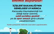 KARŞIYAKA SAHİL ŞERİDİNE GİRİŞ-ÇIKIŞLAR KAPATILDI..