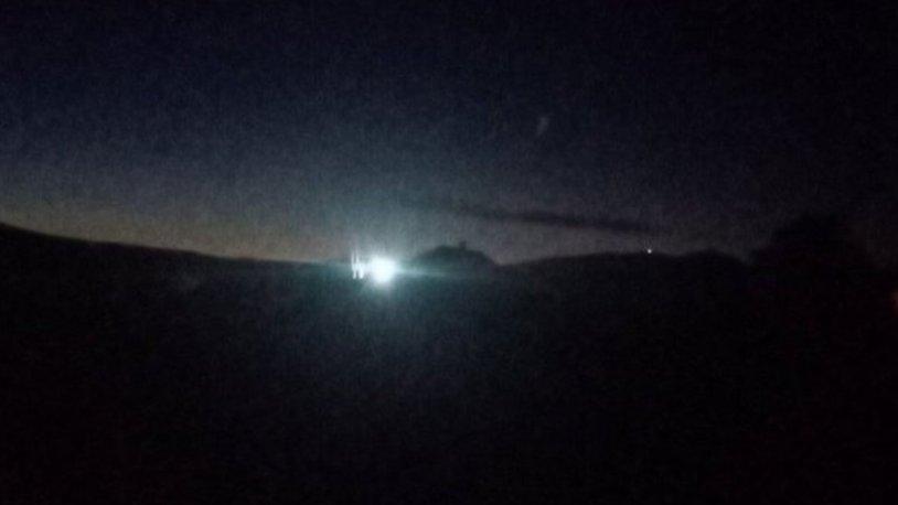 TRABZON'DA GÖKYÜZÜNÜ AYDINLATAN, GÖKTAŞI MI, YOKSA UFO'MU?