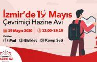 İZMİR'DE, 19 MAYIS ÇEVRİMİÇİ HAZİNE AVI..