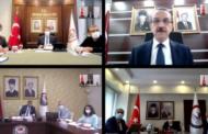 KOCA, DÖRT İLİN VALİSİYLE TOPLANTI YAPTI..