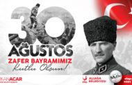ALİAĞA'DA 30 AĞUSTOS ZAFER BAYRAMI PROGRAMI..