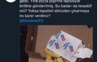 DOMİNOS'TAN PİZZA ALANA, İÇİNDE PİŞİRME TELİ BEDAVA!..