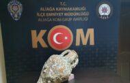 ALİAĞA EMNİYETİ, KOM GRUP AMİRLİĞİNDEN ANTİK ESER OPERASYONU..