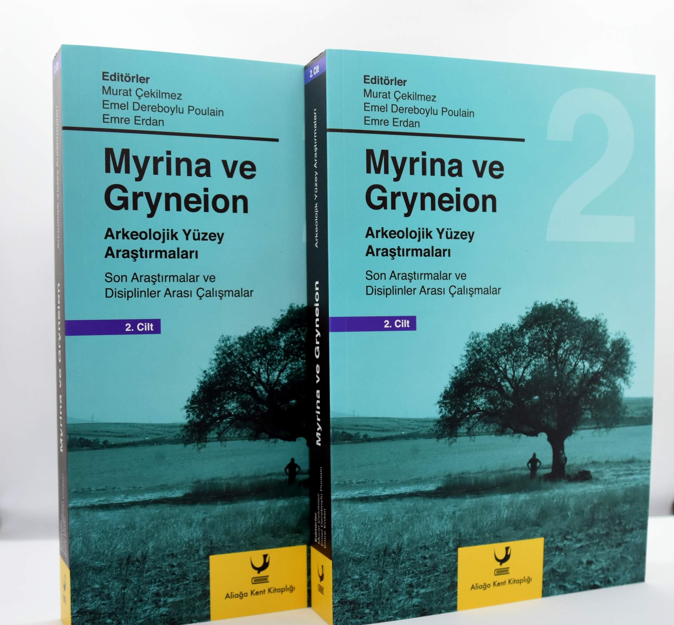 Apollon Tapınağı İle Ünlü 'Gryneion' Bu Kitapta..